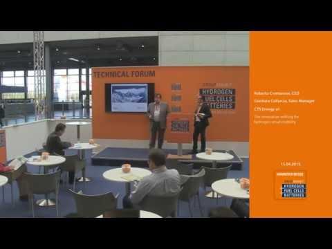 CTS Energy at Hannover Messe 2015 hydrogen dispenser