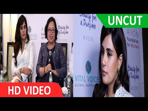 Richa Chadha Joins Panel Discussion On Gender Based Violence