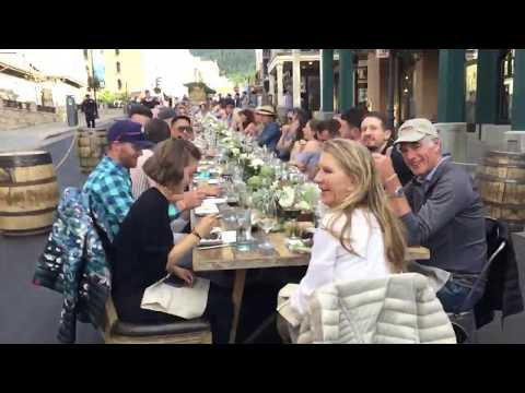 Savor The Summit, High West table, Park City, Utah, USA - Unravel Travel TV