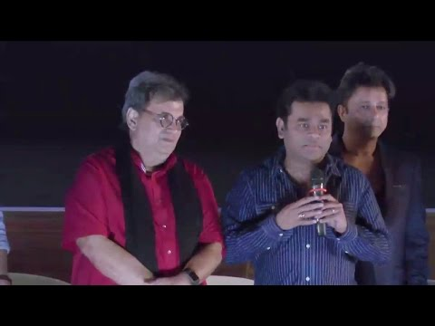 A. R. Rahman With Subhash Ghai & Others At The Special Screening Of Movie TAAL