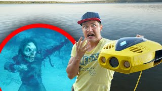 Мы нашли зомби и другие жуткие находки под водой с помощью подводного дрона