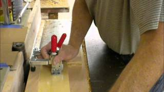"Using A Wood Shaper To Taper Furniture Legs ""the Commercial Pace"" Salem Wood Products Swp"