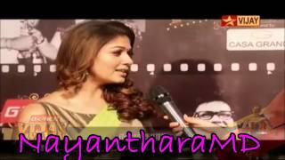 Nayanthara Entry Vijay Awards