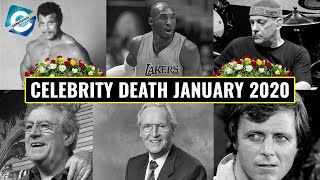 Remembering the Stars We Lost in January 2020 | Kobe Bryant, Rocky Johnson & more