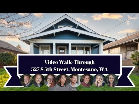 527 South 5th Street | Montesano, WA | Video Walk-through