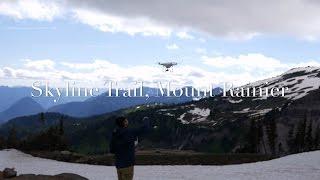 Skyline Trail on Mount Rainier :: DJI Drone 4K