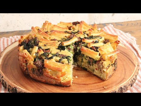 Sausage & Broccoli Rabe Pasta Pie 🍝 | Episode 1171