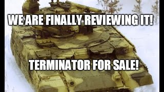 terminator target located engage armored warfare terminator bmpt 72 review