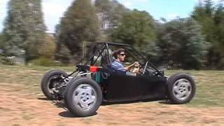 Mad Max style electric car