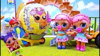 Kinderfilm: LOL Surprise Dolls Zwillinge und die Pets Überraschung im Playmobil Zoo
