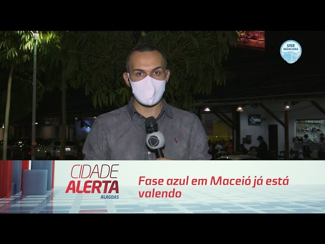 Decreto emergencial: fase azul em Maceió já está valendo