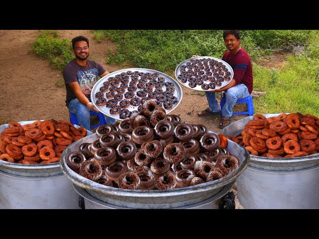 Delicious Homemade Donuts Recipe | Egg less Donuts Recipe
