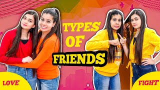 Types of Friends | Sanjhalika Vlog