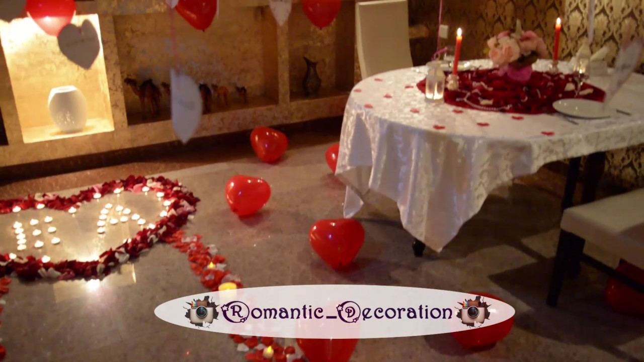 Romantic room decorations youtube for Room decor ideas for husband birthday