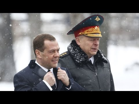 Russian PM Dmitry Medvedev accused of corruption by opposition activist Alexei Navalny