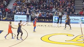 Kevin Love Gets Sick Of Cavaliers & Angrily Throws Ball At Teammate! Thunder vs Cavaliers