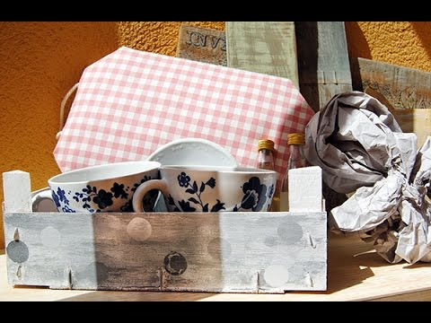 Tutorial c mo forrar una caja con tela youtube for Forrar cajas de carton con tela