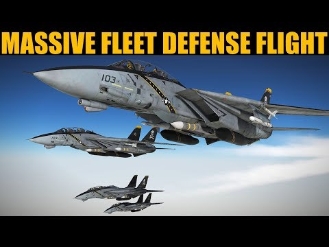 Cold War Campaign: DAY 8 Epic & Emotional Fleet Defense Mission | DCS WORLD