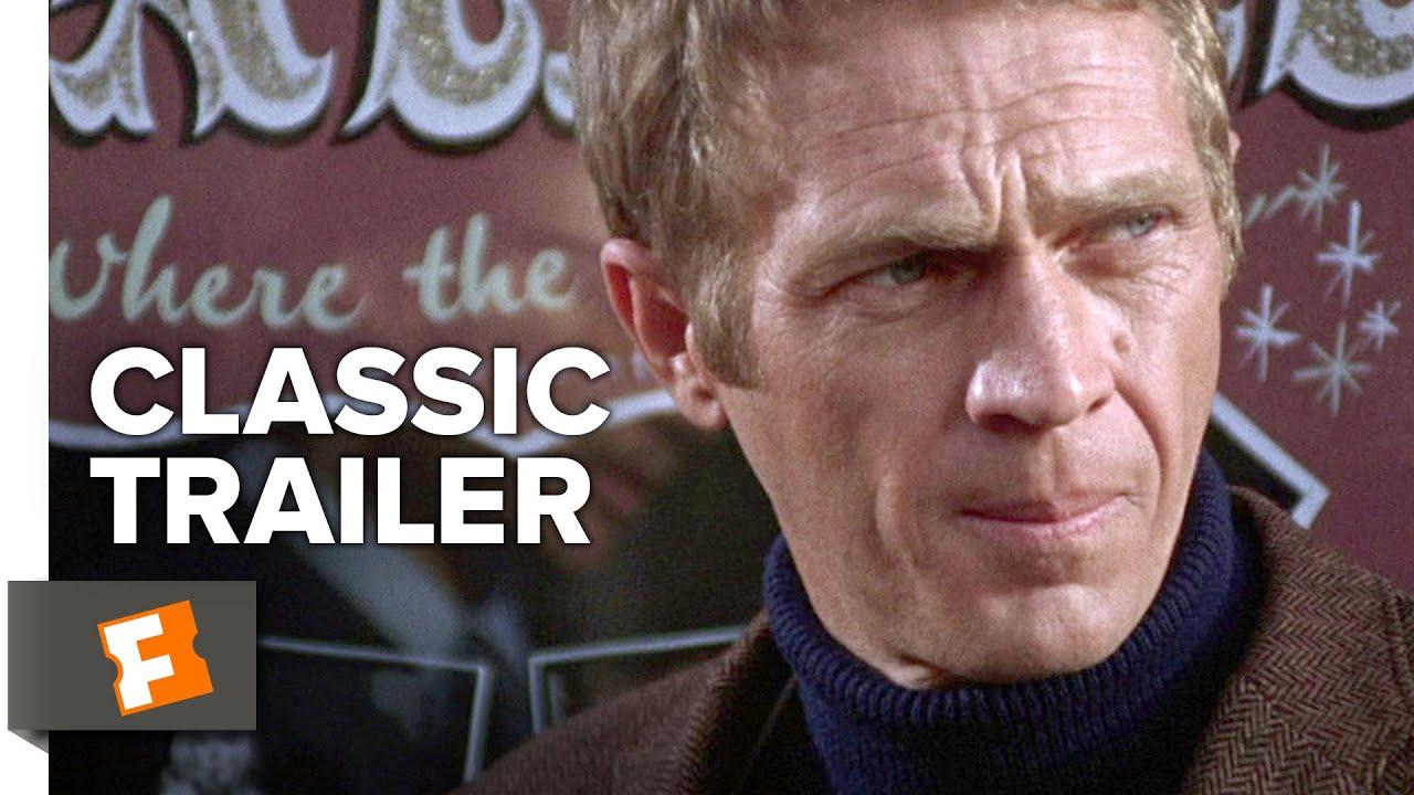 bullitt 1968 official trailer steve mcqueen movie youtube. Black Bedroom Furniture Sets. Home Design Ideas