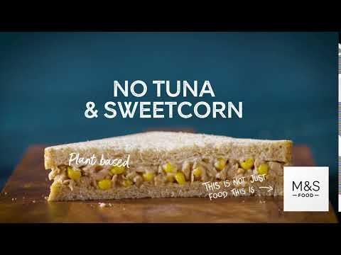 M&S   Plant Kitchen No Tuna & Sweetcorn Sandwich
