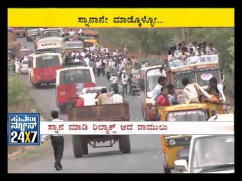 Sriramulu padayatra 3rd day - Suvarna News