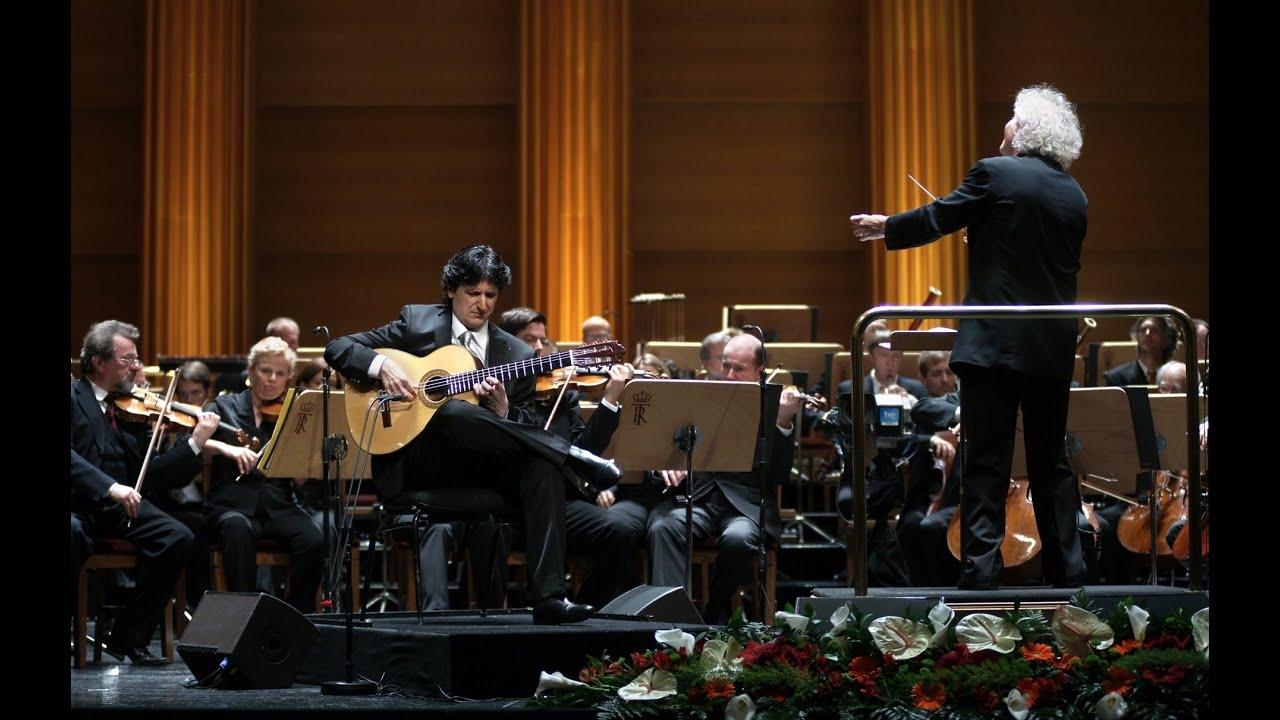【Cañizares - Concierto de Aranjuez】 Berliner Philharmoniker - Sir Simon Rattle in Teatro Real Madrid
