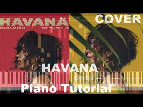 camila-cabello---havana---piano-tutorial--Сover