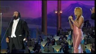 mariah carey and luciano pavarotti - hero