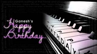 Ganesh - Happy Birthday (Official Piano Instrumental)