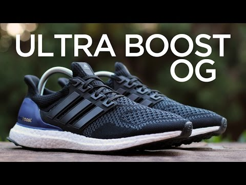 5a55a821cbca Closer Look  adidas Ultra Boost - OG - YouTube