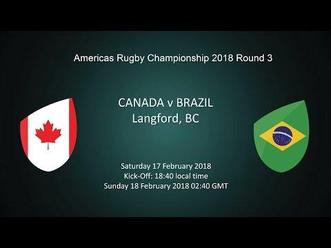 2018 Americas Rugby Championship - Canada v Brazil