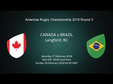2018 Americas Rugby Championship - Canada v Brazil