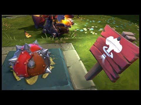 Dota 2 Mods   MINESWEEPER!!   Baumi plays Legends of Dota