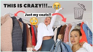 DECLUTTER WITH ME...DON'T JUDGE ME!!! | THROWING AWAY ALL MY CLOTHES!