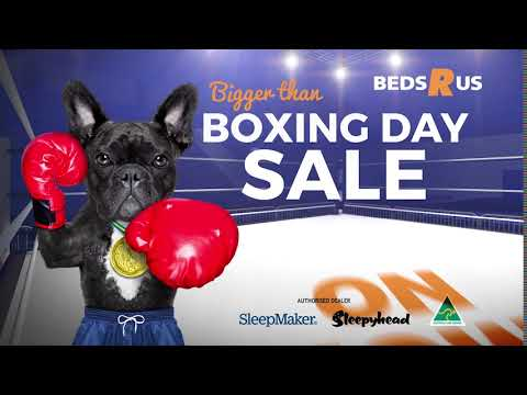 Bigger Than Boxing Day Mattress Sale   Beds R Us