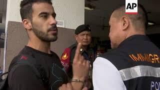 Bahrain footballer in Thailand faces extradition