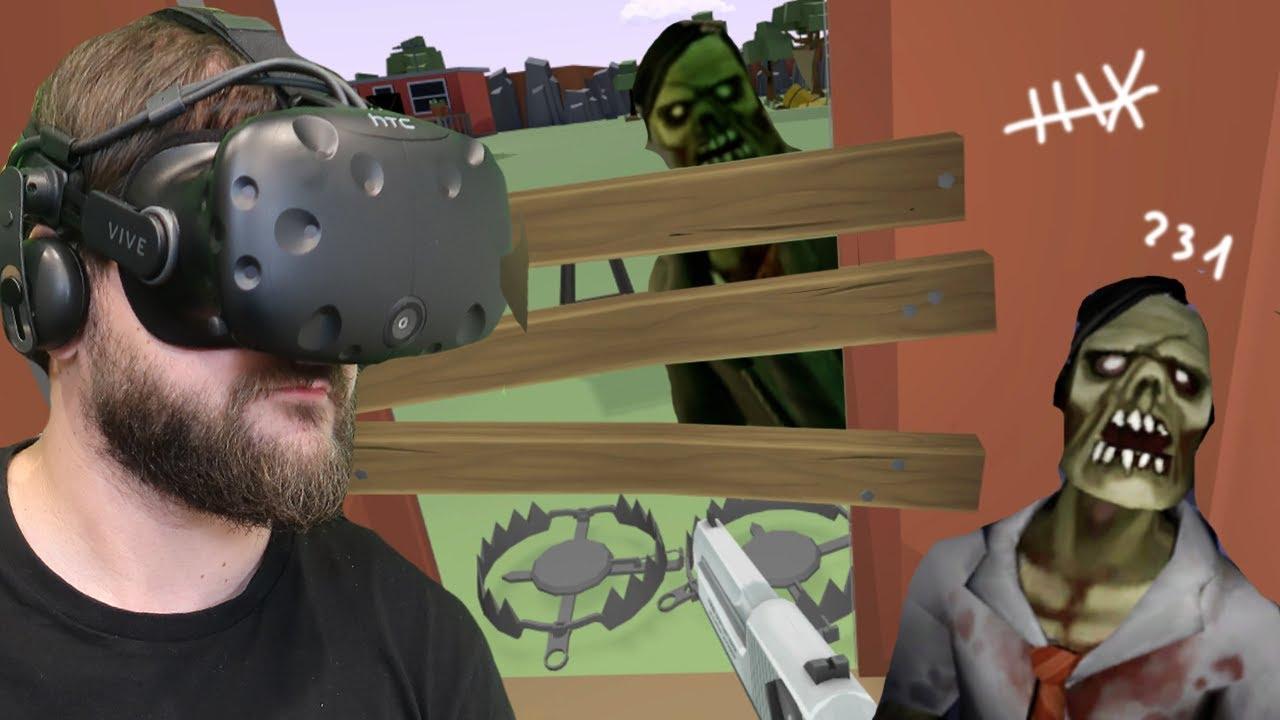 ZABUNKROWAŁEM SIĘ W DOMU - Undead Development #5 (HTC VIVE VR)
