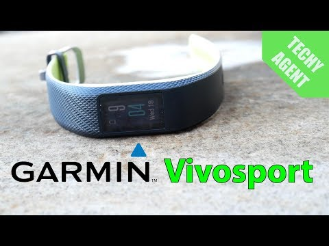 Garmin Vivosport - COMPLETE FITNESS REVIEW!