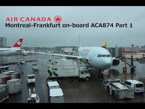 Flight Report: Montreal-Frankfurt, Air Canada (ACA874) Part 1