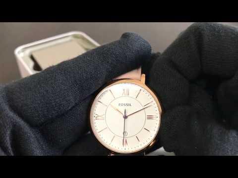 Reloj Fossil Jacqueline White Dial Ladies Casual Watch ES3988 (Regaloj)