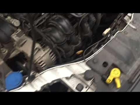 Двигатель Форд Фокус 3. Холодный пуск.