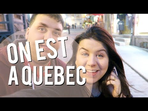 26/05/2017: Séjour à Québec !