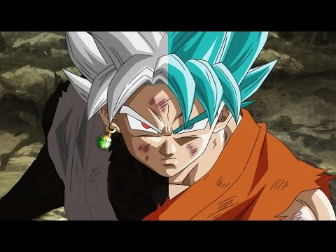 Dragon Ball Super: Goku Ssj Vs. Black Goku [AMV] Black and Blue