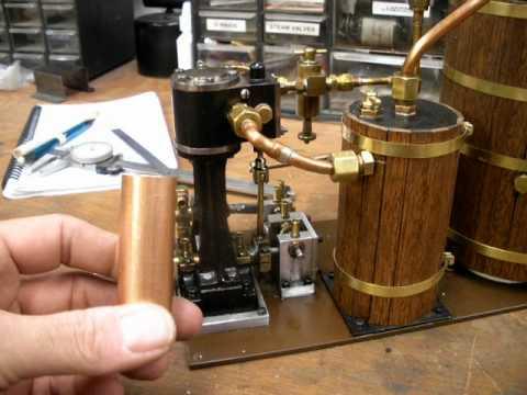 Model Steam Engine Exhaust Boiler Feedwater Heater 1