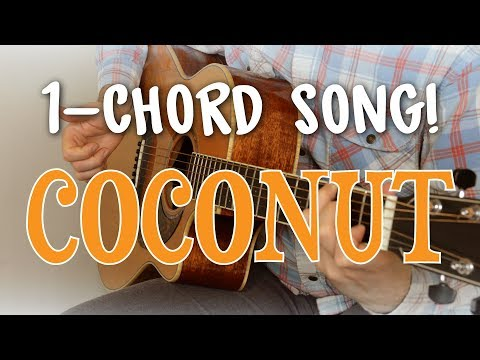 Easiest Song To Play On Guitar - It's A 1-Chord Song! |