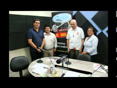 Entrevista a Carlos Vargas en Radio Santiago 450 AM de Guayaquil