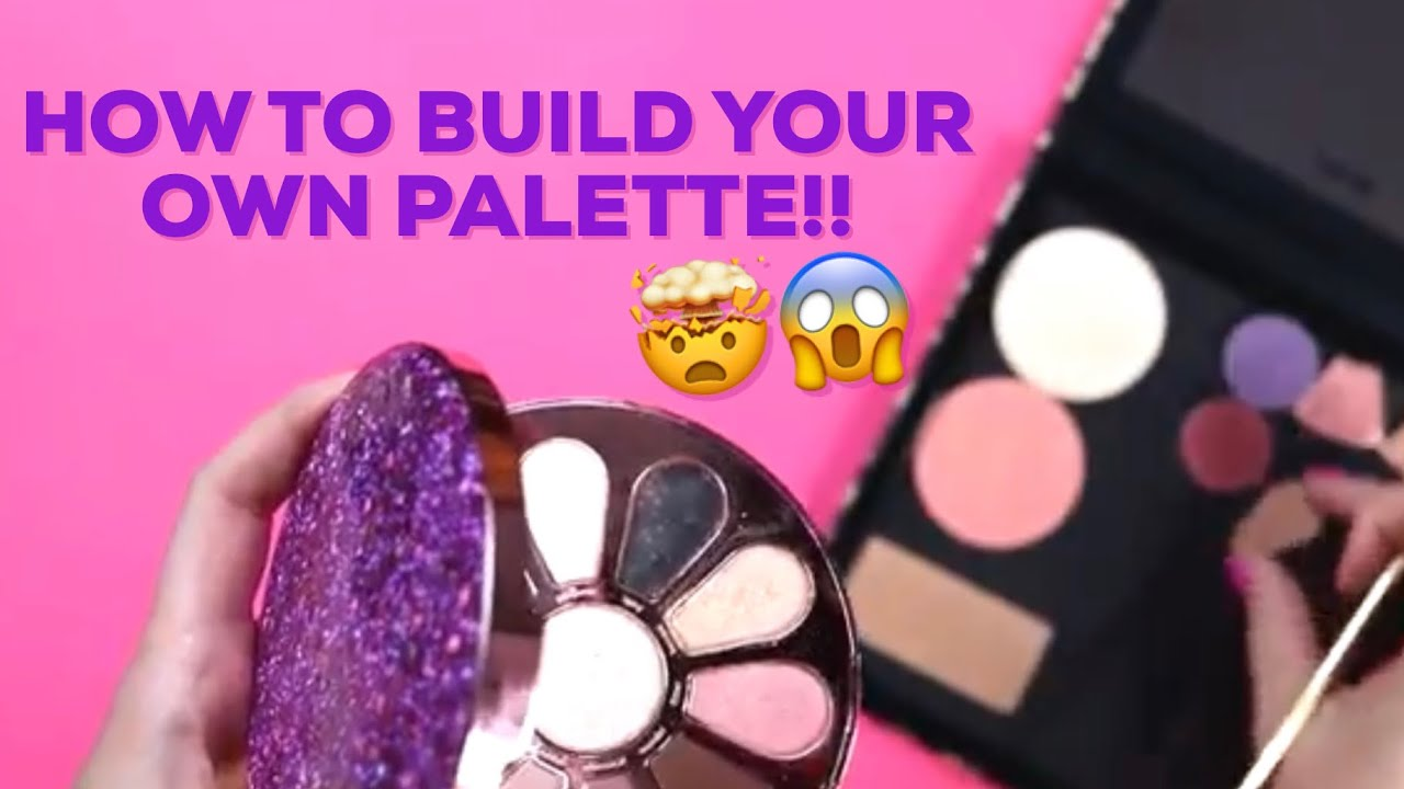 HOW TO: build your own custom magnetic palette | tarte vlogs