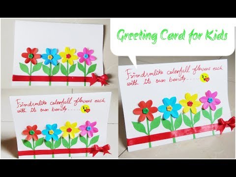 Friendship Day Card Ideas For Kids