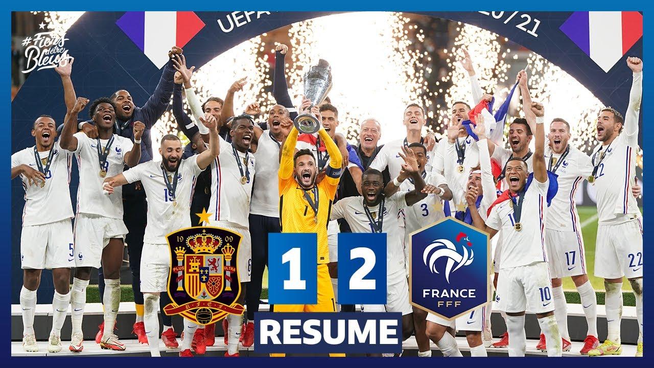 Download Espagne 1-2 France, le résumé - Finale UEFA Nations League I FFF 2021
