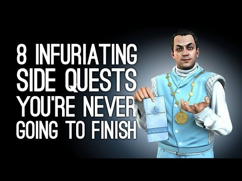 8 Infuriating Side Quests Youre Never Going to Finish